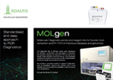 MOLgen - Molecular Diagnostics Menu Brochure